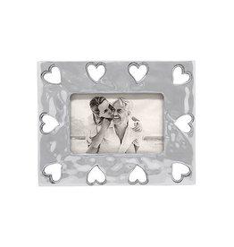 Frame - Heart Open Border 4x6