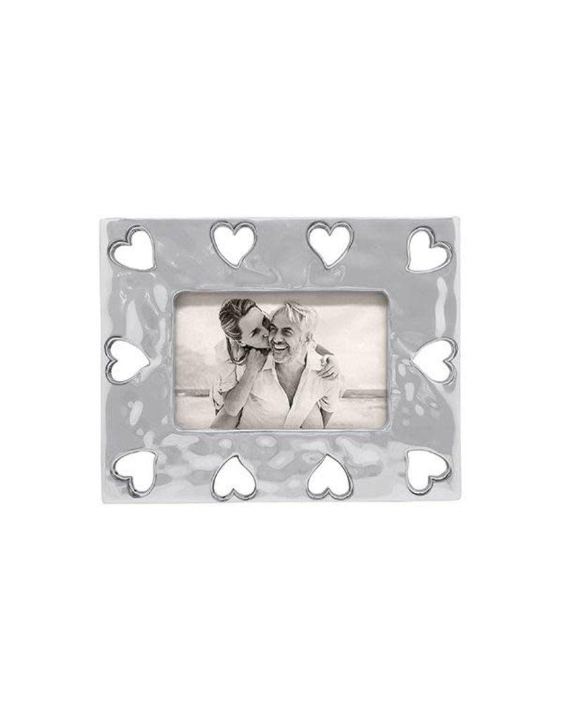 Mariposa Frame - Heart Open Border 4x6