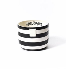 Coton Colors Mini Bowl Black Stripe