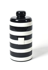 Coton Colors Happy Everything Mini Canister Black Stripe