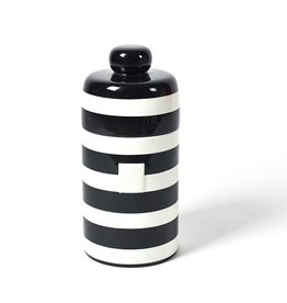 Coton Colors Mini Canister Black Stripe