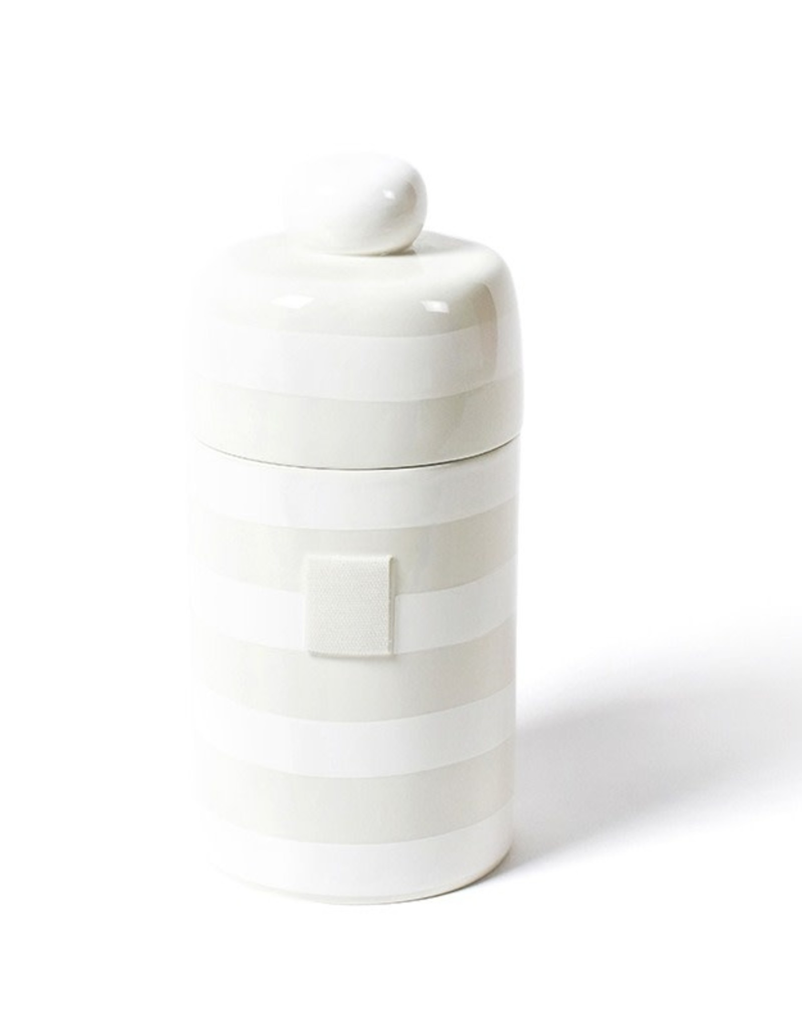 Coton Colors Happy Everything Mini Canister White Stripe
