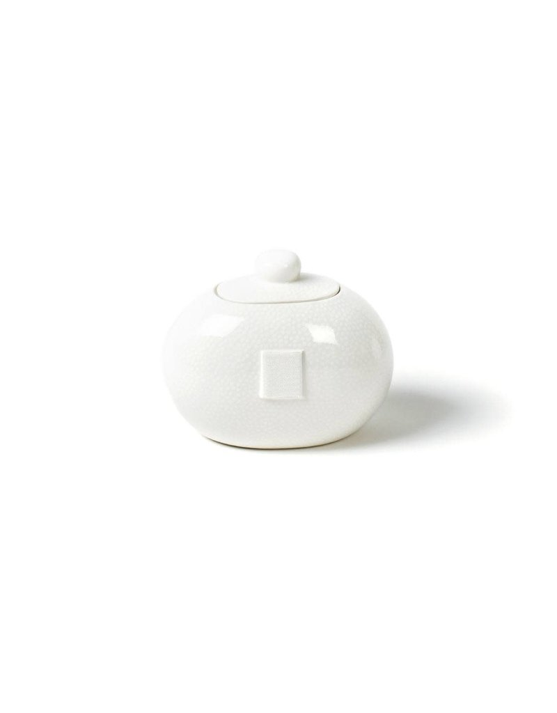 Happy Everything Mini Cookie Jar White Sm Dot