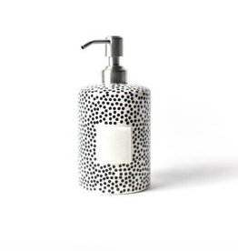 Coton Colors Happy Everything Mini Cylinder Soap Pump Black