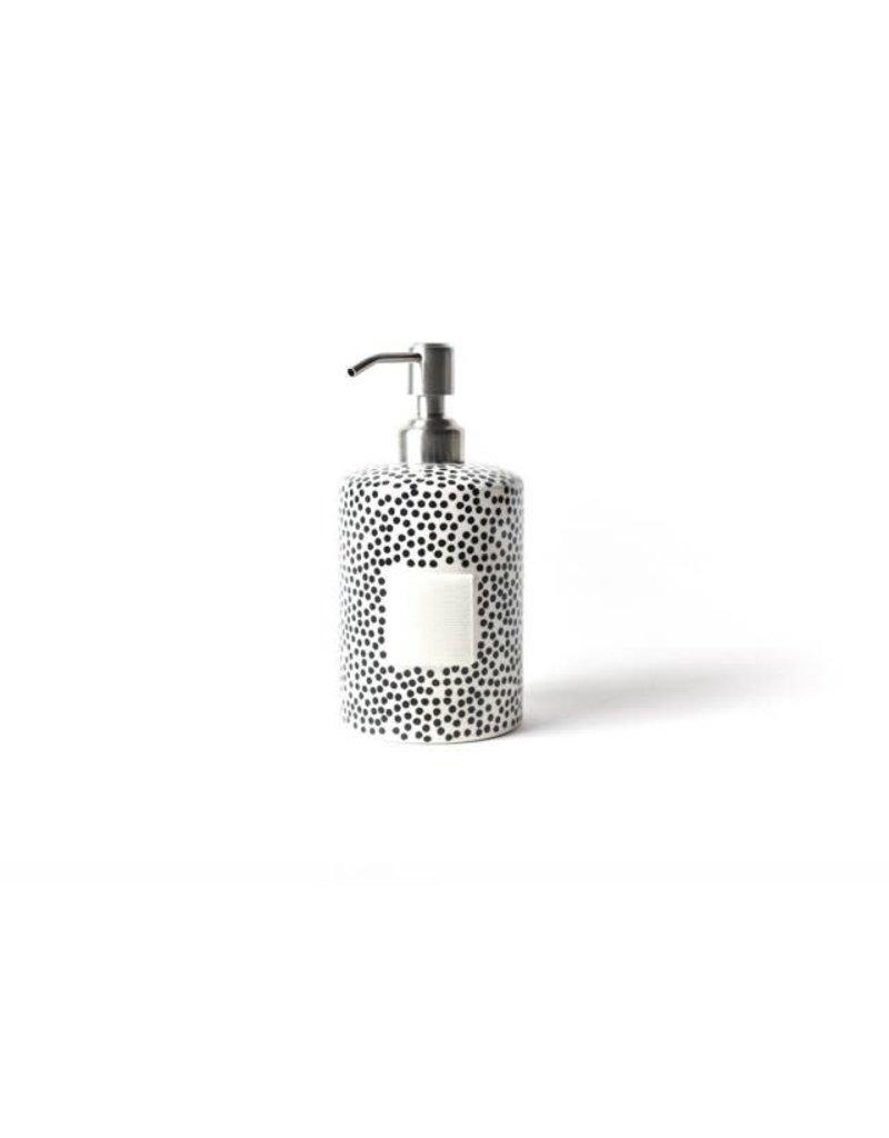 Happy Everything Mini Cylinder Soap Pump Black