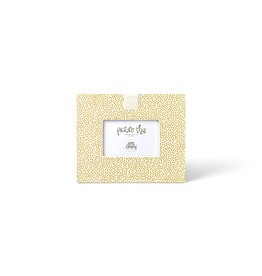 Coton Colors Happy Everything Mini Frame Gold Small Dot