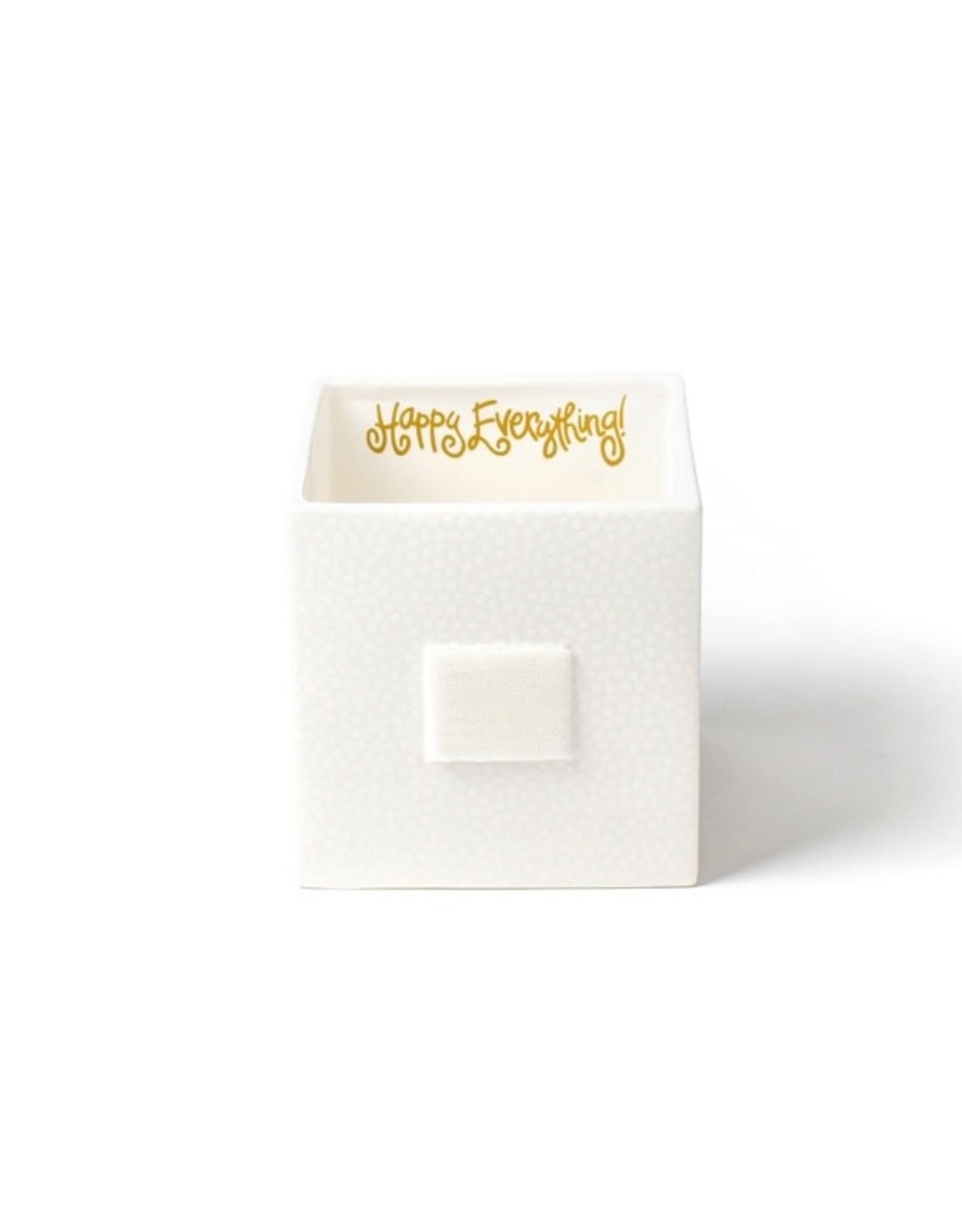 Coton Colors Happy Everything Mini Nesting Cube Medium White Sm Dot