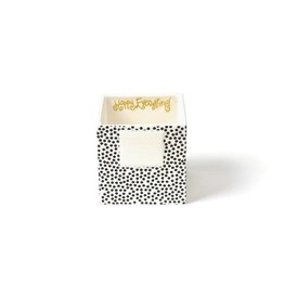 Coton Colors Mini Nesting Cube Small Black Sm Dot