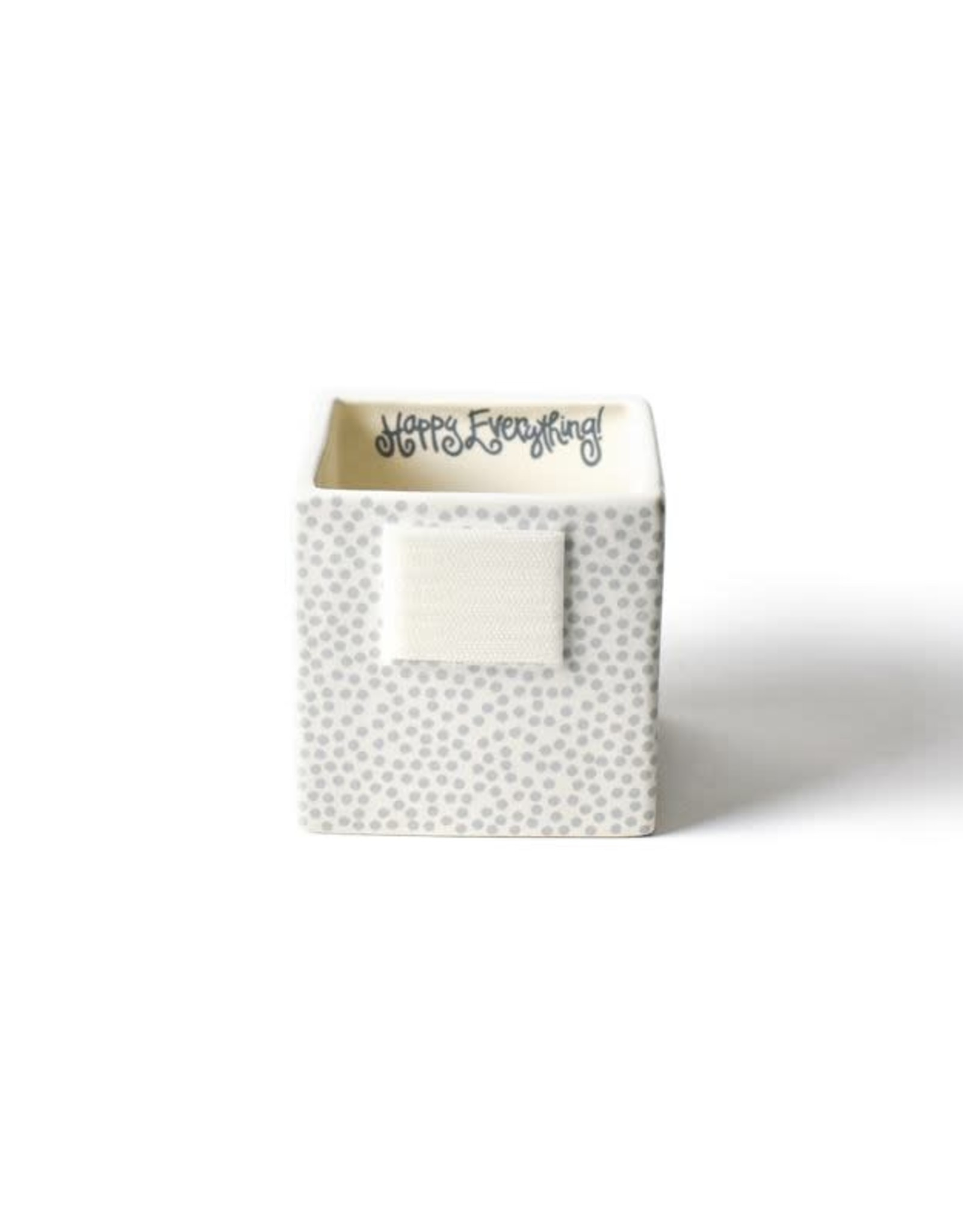 Coton Colors Happy Everything Mini Nesting Cube Small Stone Dot