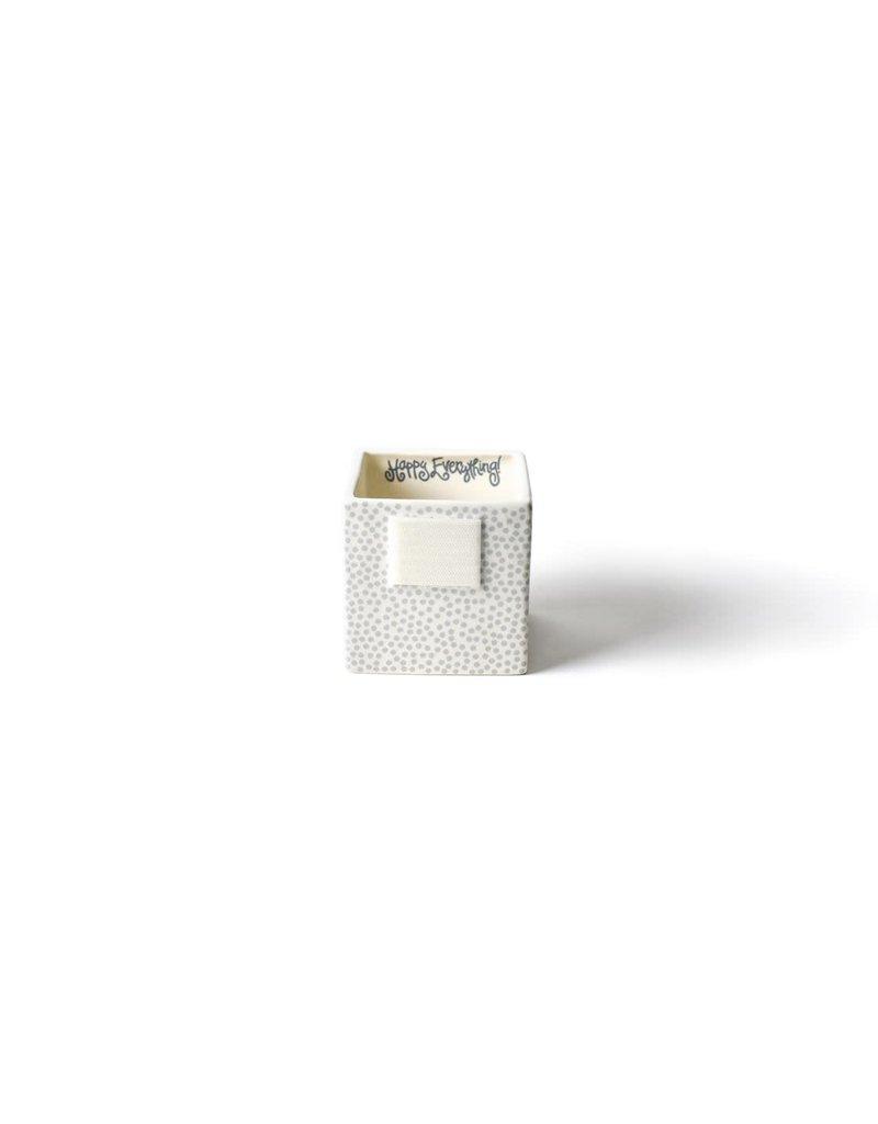 Happy Everything Mini Nesting Cube Small Stone Dot