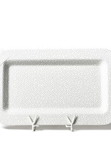 Coton Colors Happy Everything Mini Platter White Small Dot