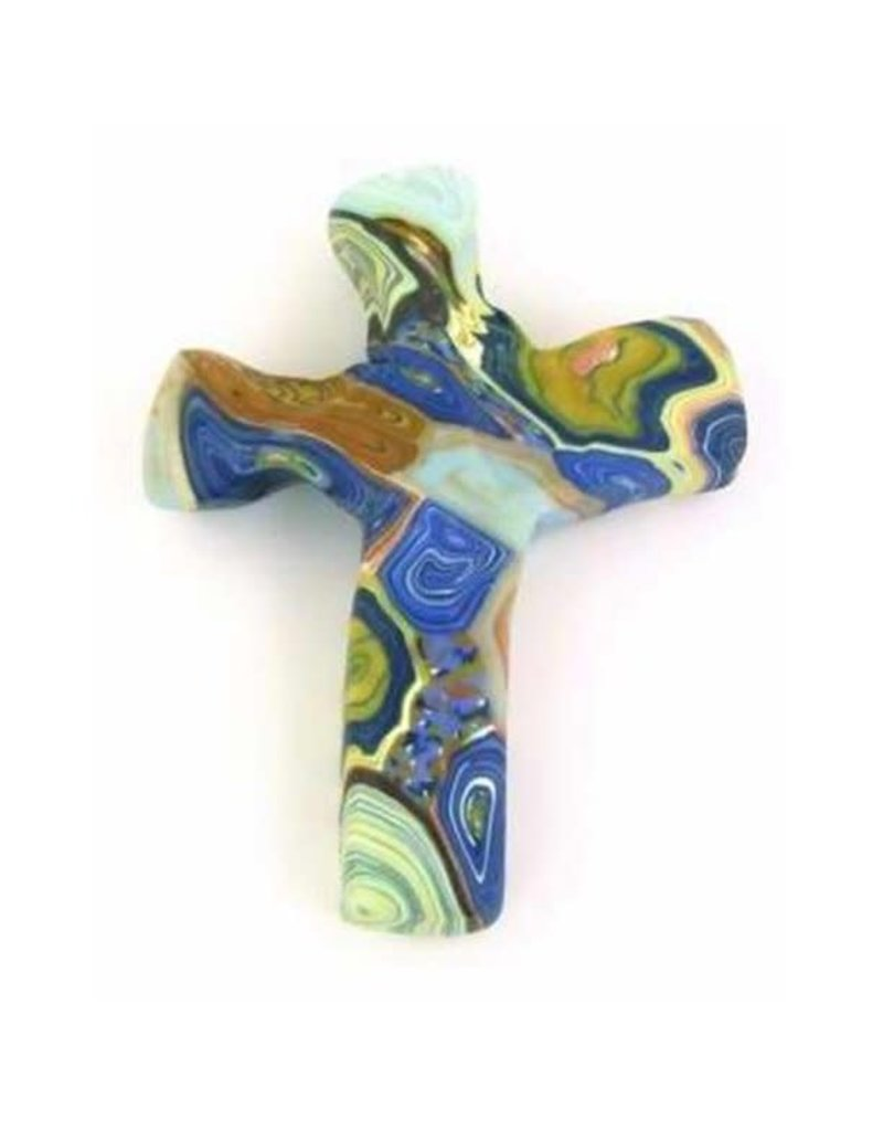 Hand Held Cross Abalone