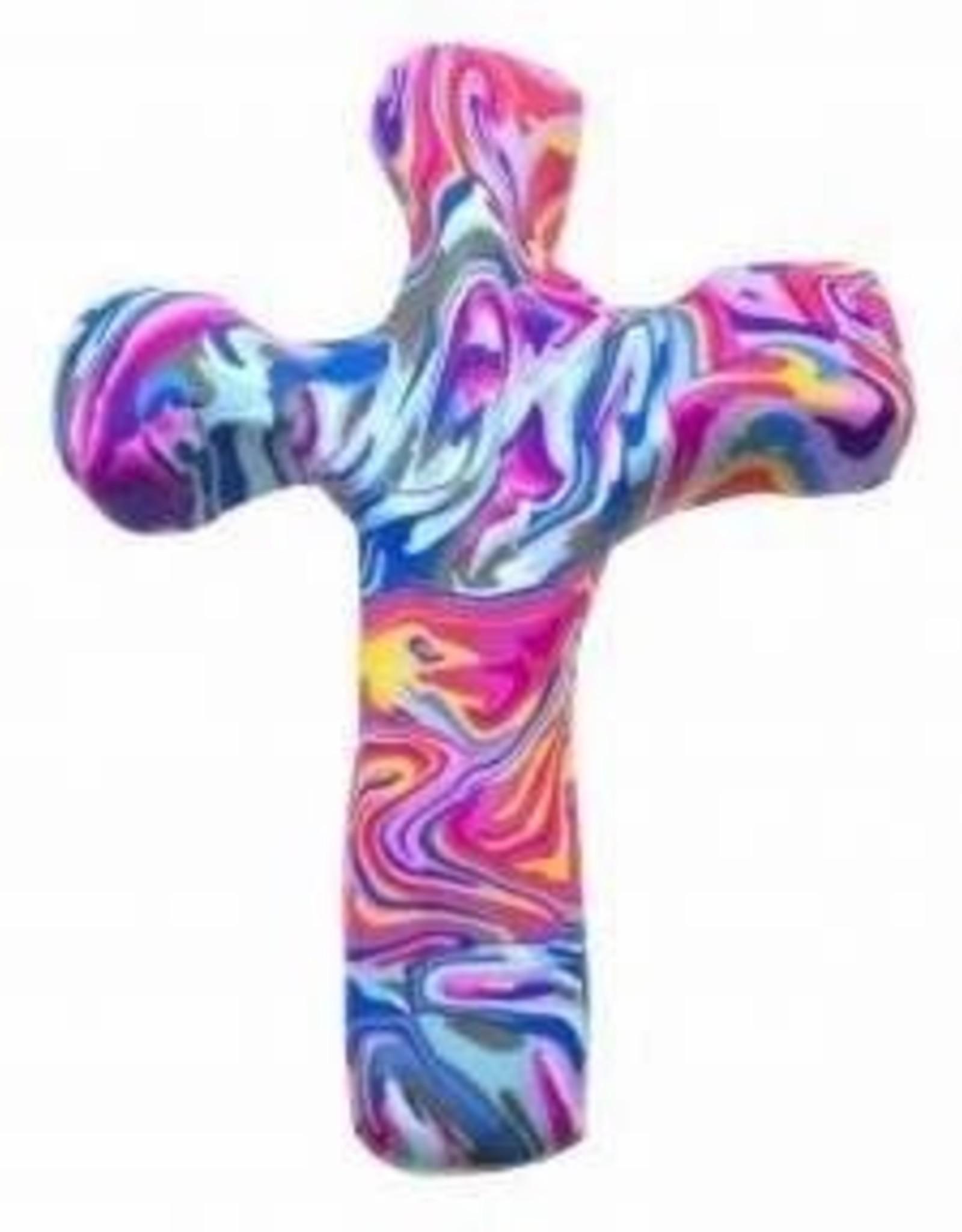 Calypso Studio Comfort Clay Cross Hand Held Cross Marble