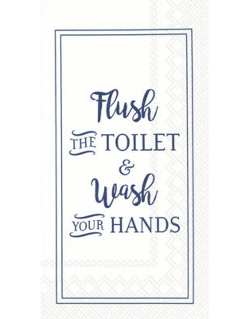 Guest Towel- Flush and Wash