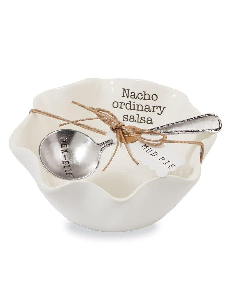 Mud Pie Circa Nacho Salsa Dip Cup Set