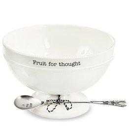 Mud Pie Circa Fruit Bowl Set