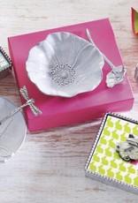 Ceramic Canape Dish Poppy