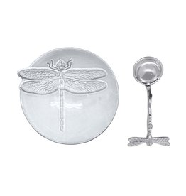 Ceramic Canape Plate Dragonfly