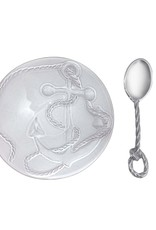 Ceramic Nut Dish Rope Spoon