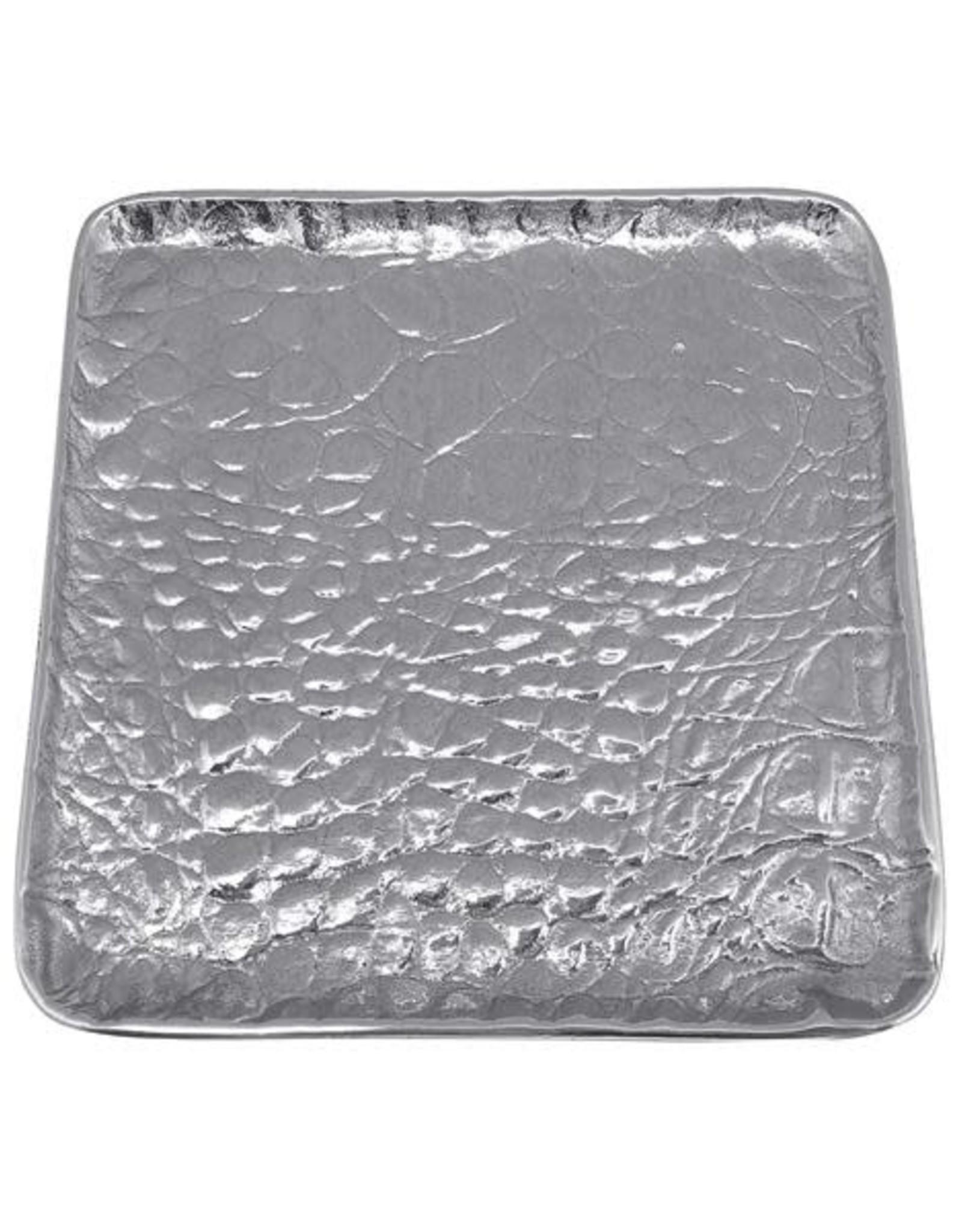 Croc Small Square Plate