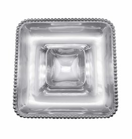 Pearled Square Chip & Dip