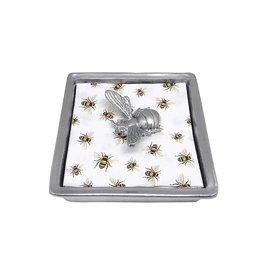 Mariposa Bee Collection- Honeybee Signature Napkin Box