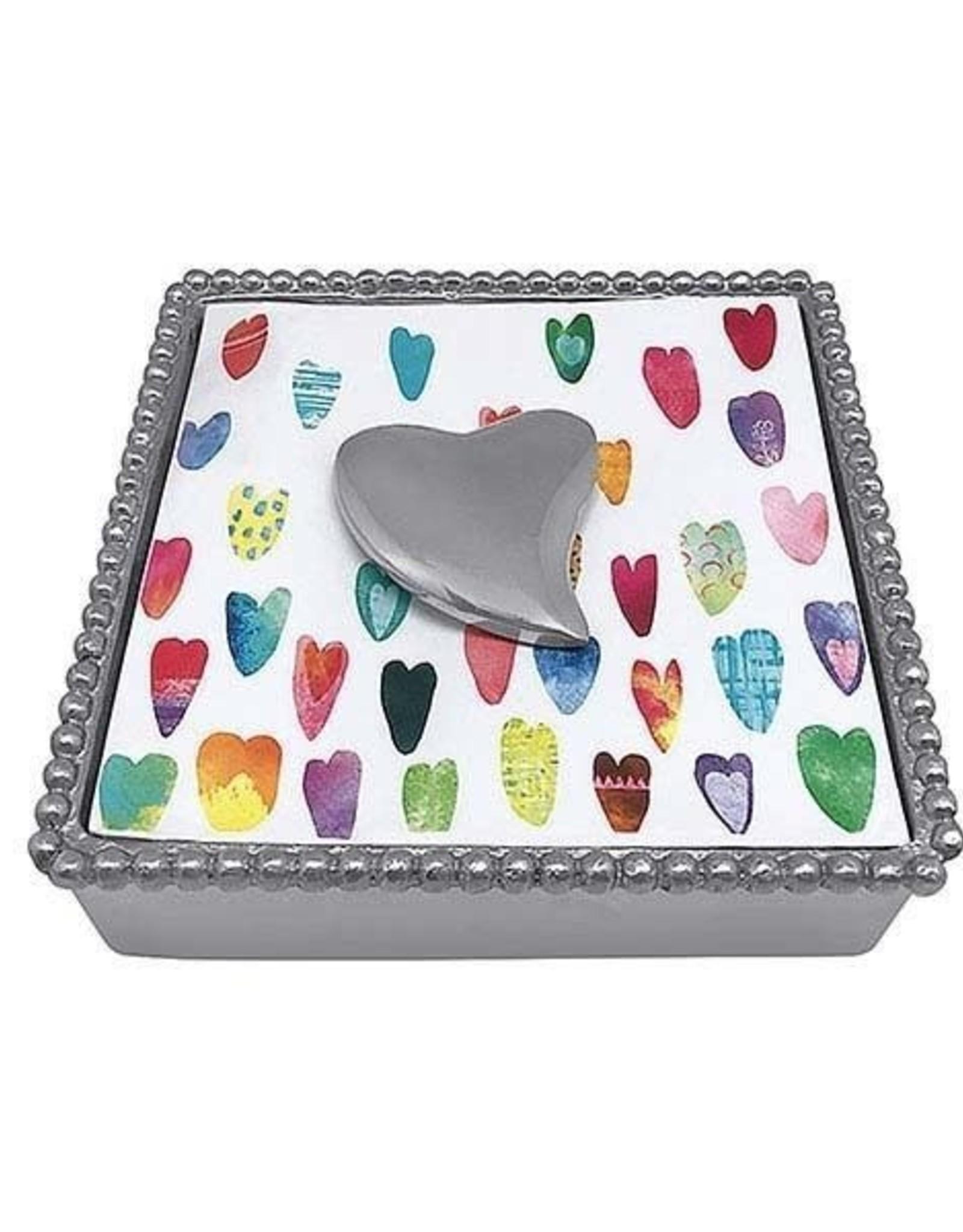 Napkin Box - Heart
