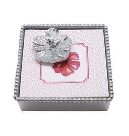 Mariposa Napkin Box - Hibiscus