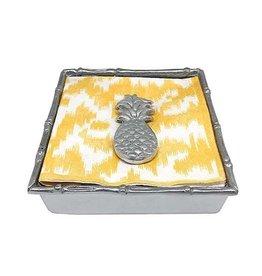 Napkin Box - Pineapple Bamboo