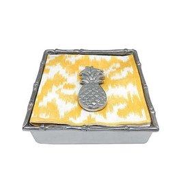 Mariposa Napkin Box - Pineapple Bamboo