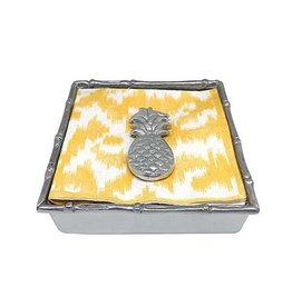 Napkin Box - Pineapple Bamboo