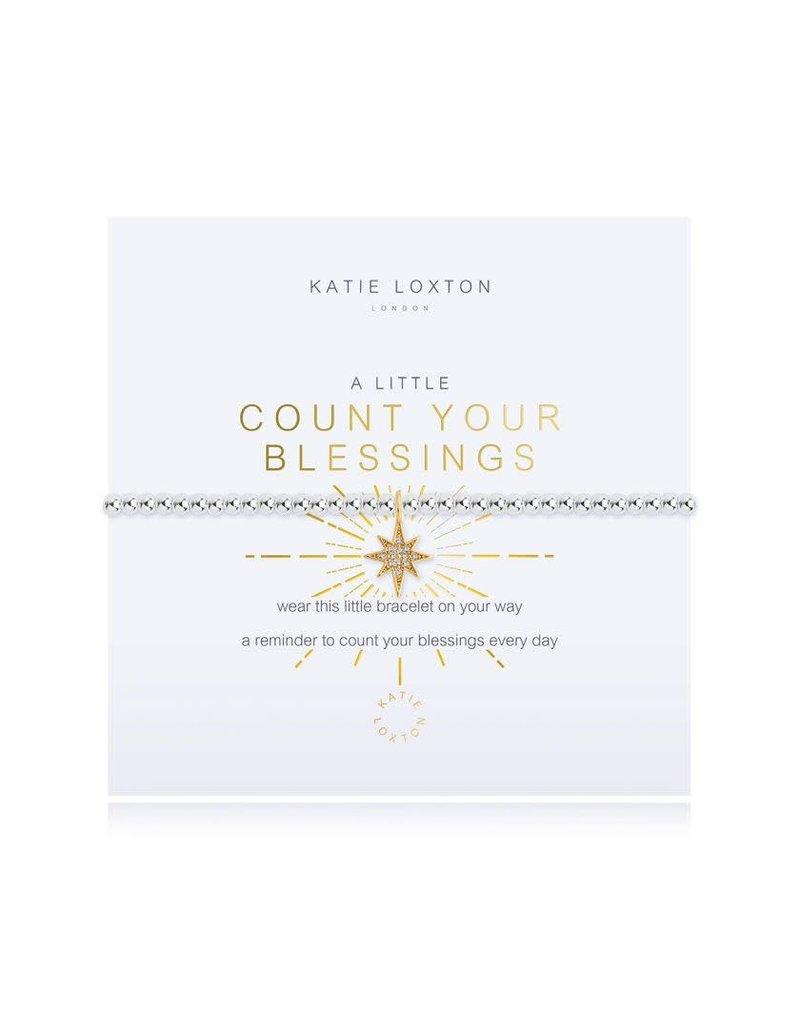Katie Loxton Katie Loxton Bracelet-Count Your Blessings