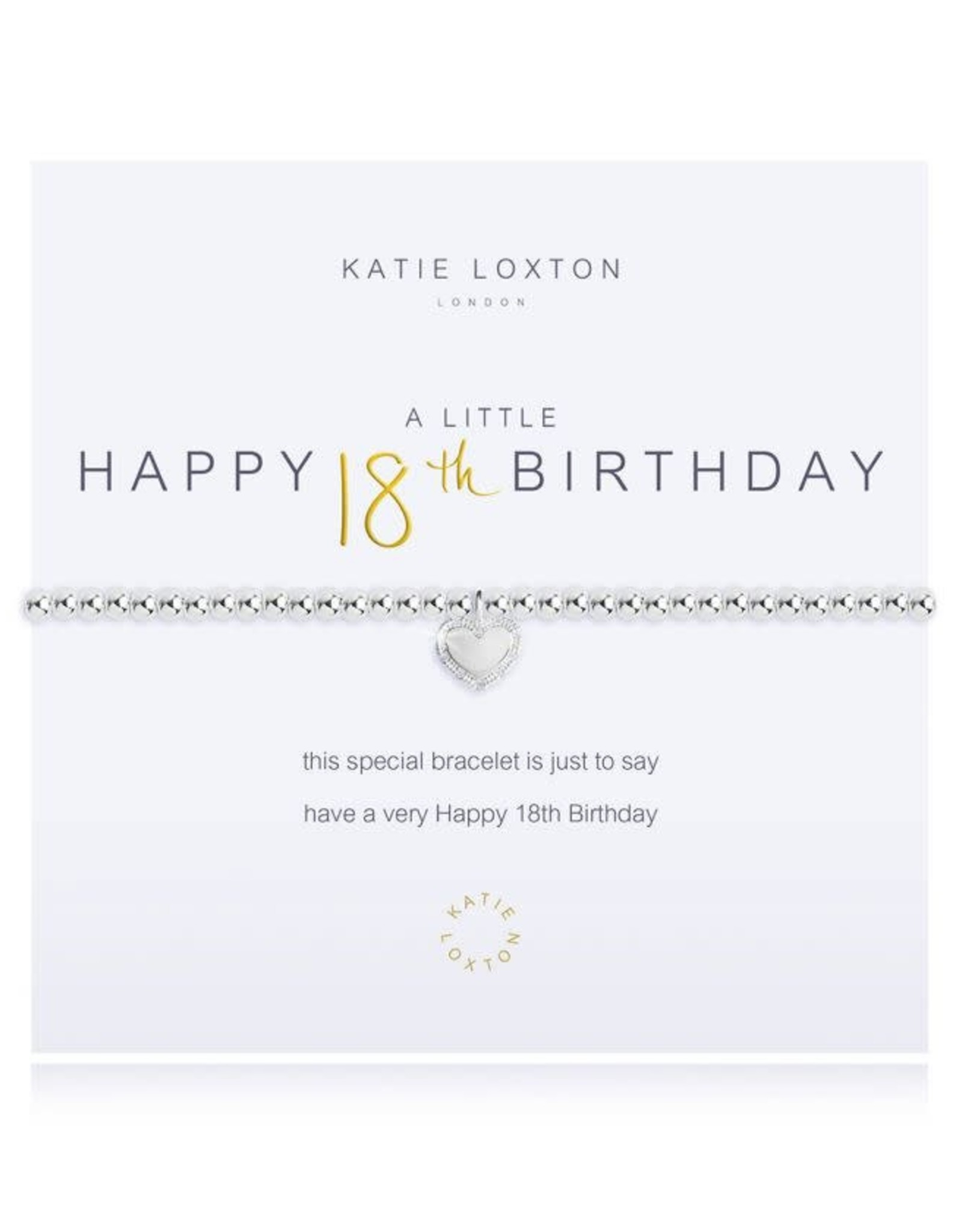 Katie Loxton Bracelet-18th Birthday
