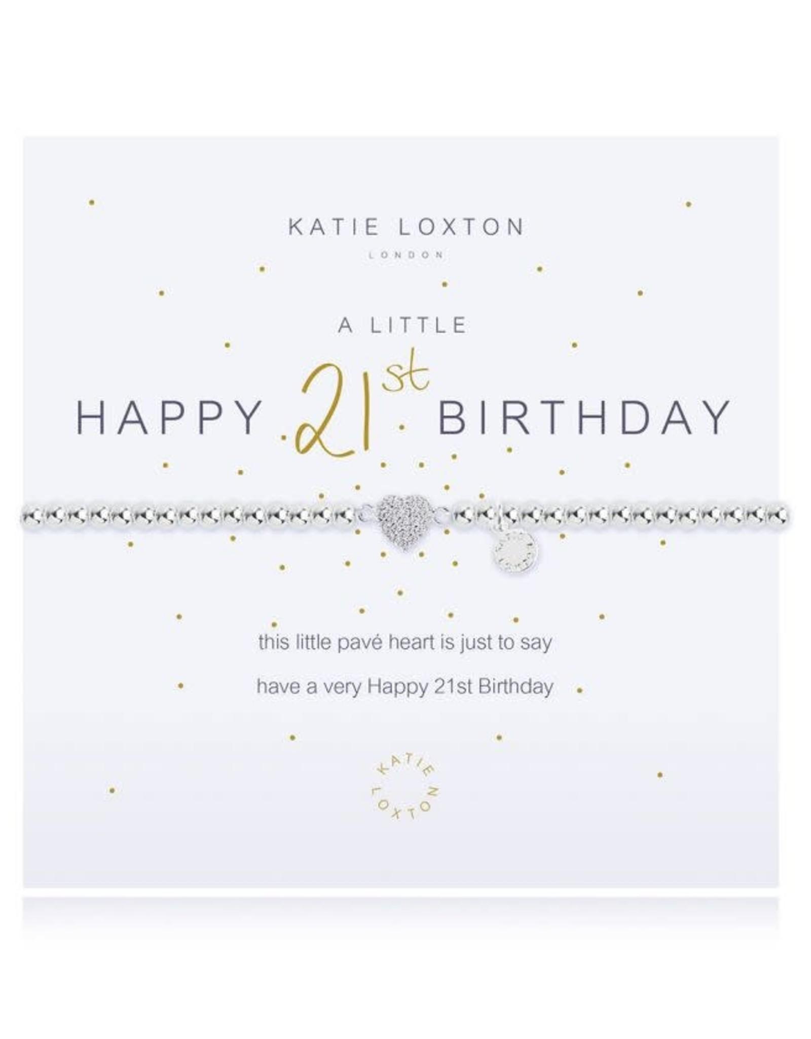 Katie Loxton Bracelet-21st Birthday