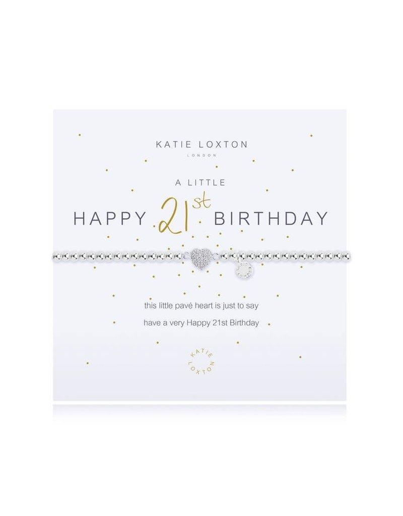 Katie Loxton Katie Loxton Bracelet- 21st Birthday