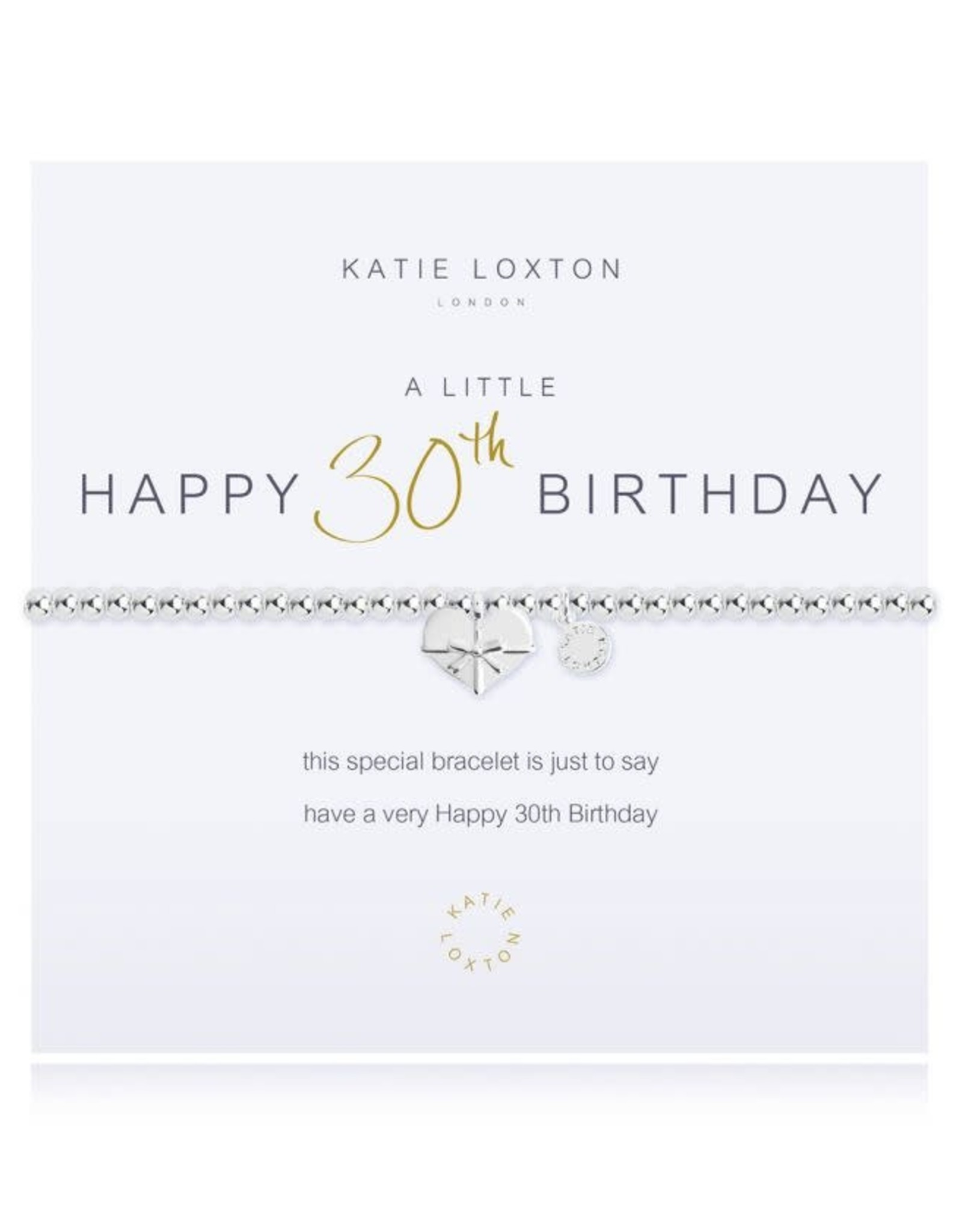 Katie Loxton Bracelet-30th Birthday