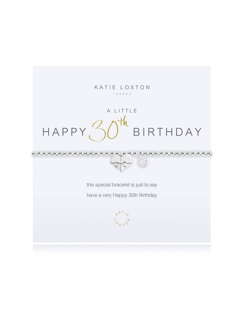 Katie Loxton Katie Loxton Bracelet- 30th Birthday