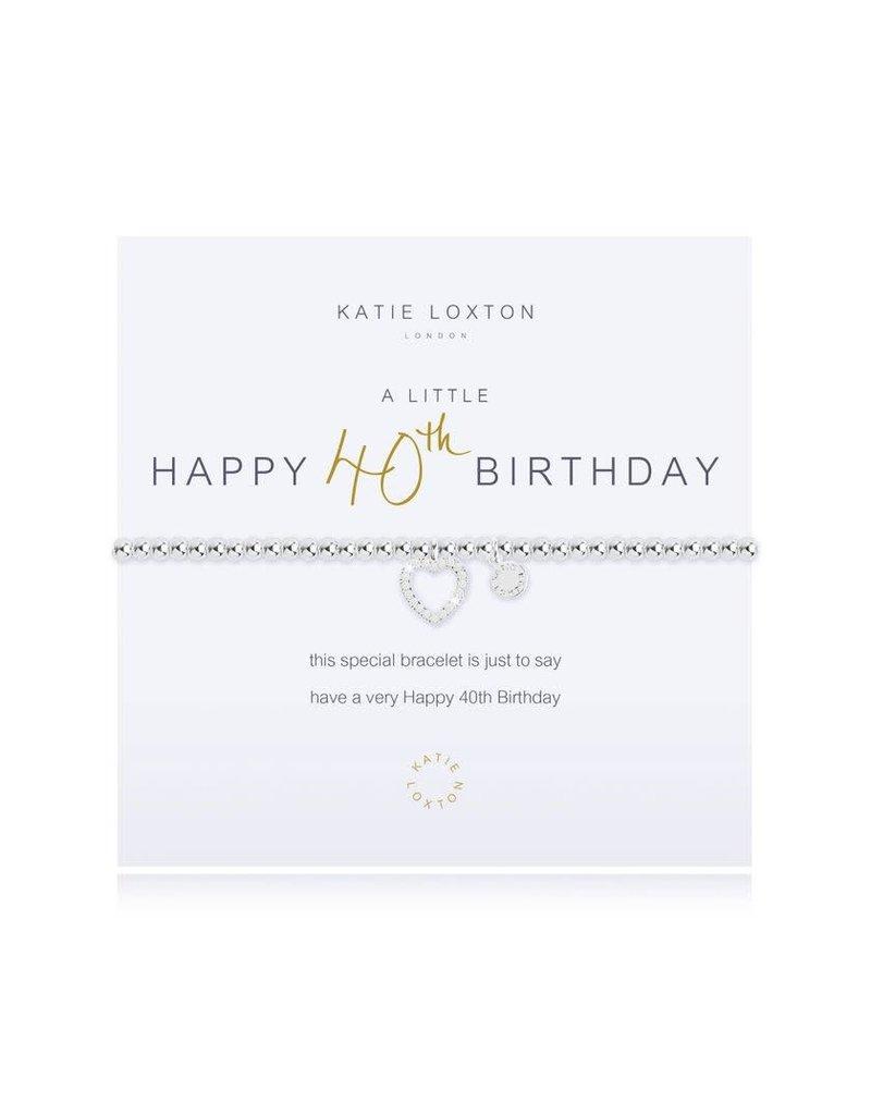 Katie Loxton Katie Loxton Bracelet-40th Birthday