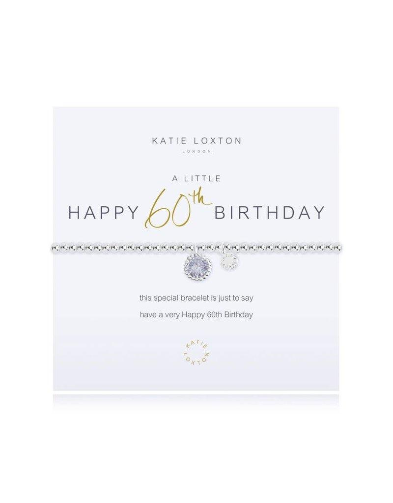 Katie Loxton Katie Loxton Bracelet- 60th Birthday