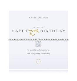 Katie Loxton Bracelet-70th Birthday