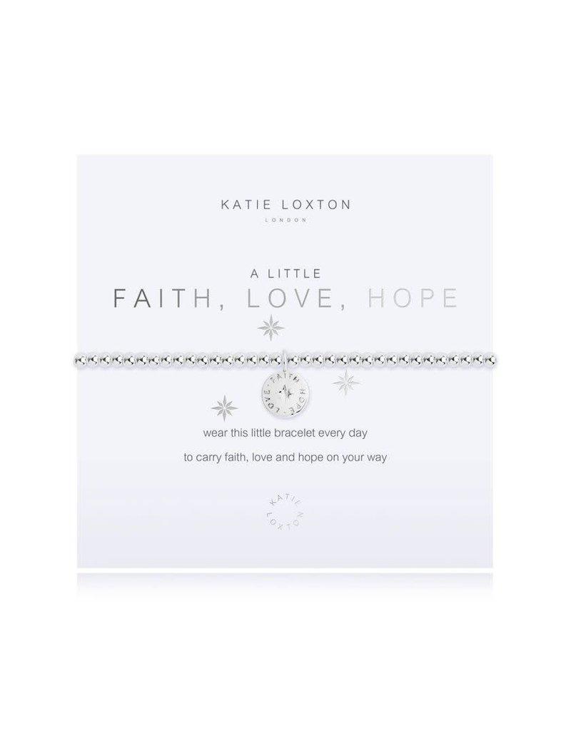 Katie Loxton Katie Loxton Bracelet-Faith Love Hope