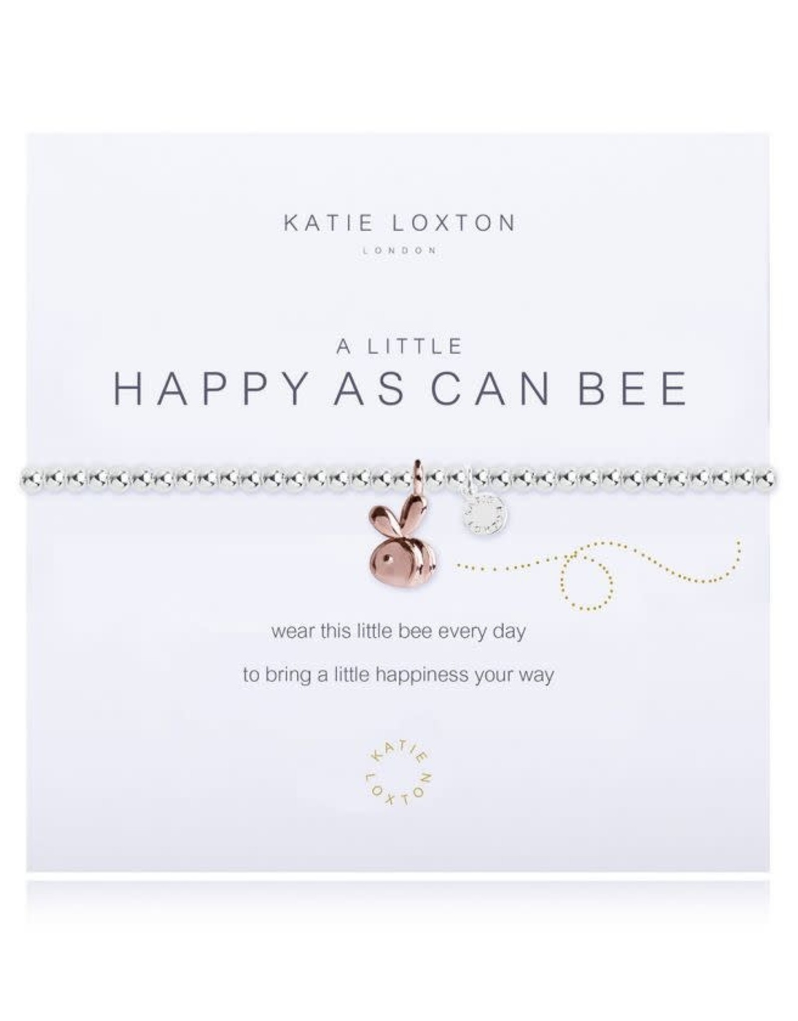 Katie Loxton Bracelet-Happy As Can Bee