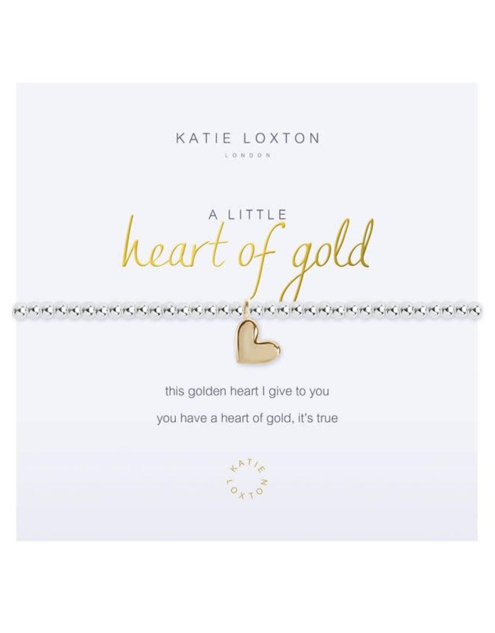 Katie Loxton Bracelet-Heart of Gold