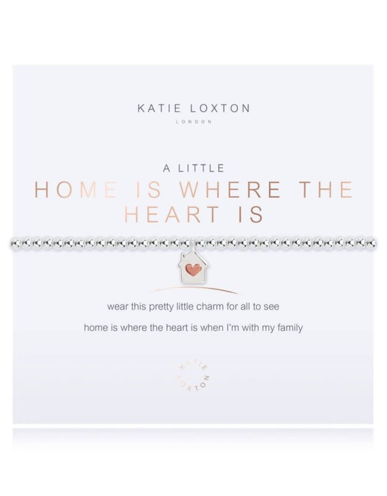 Katie Loxton Bracelet-Home is Where the Heart Is
