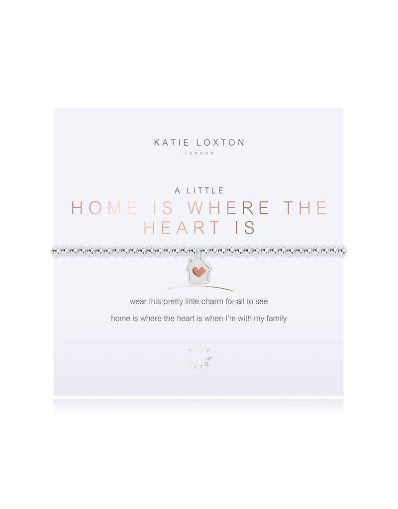 Katie Loxton Katie Loxton Bracelet-Home is Where the Heart Is
