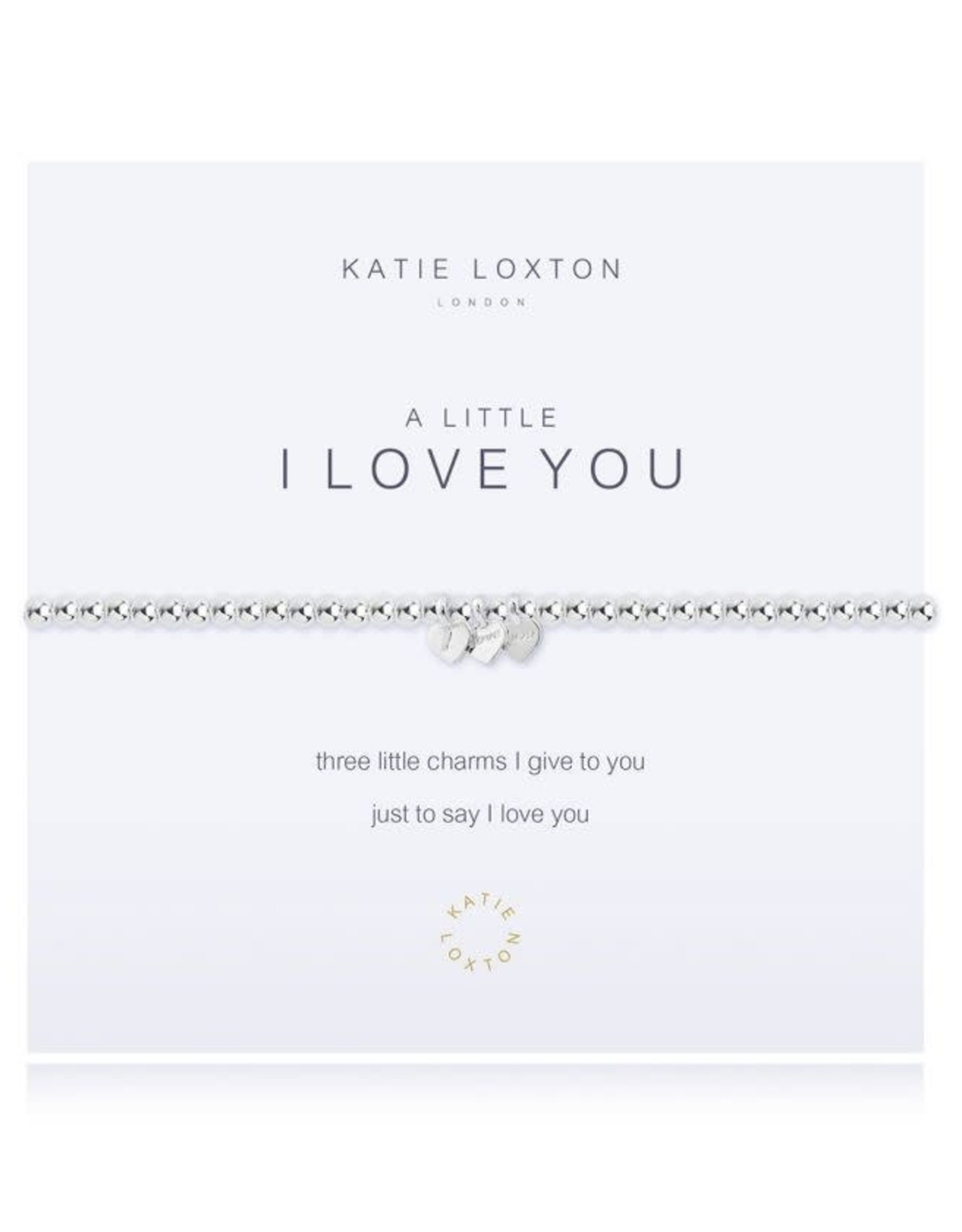 Katie Loxton Bracelet-I Love You