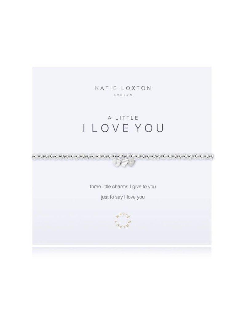 Katie Loxton Katie Loxton Bracelet- I Love You