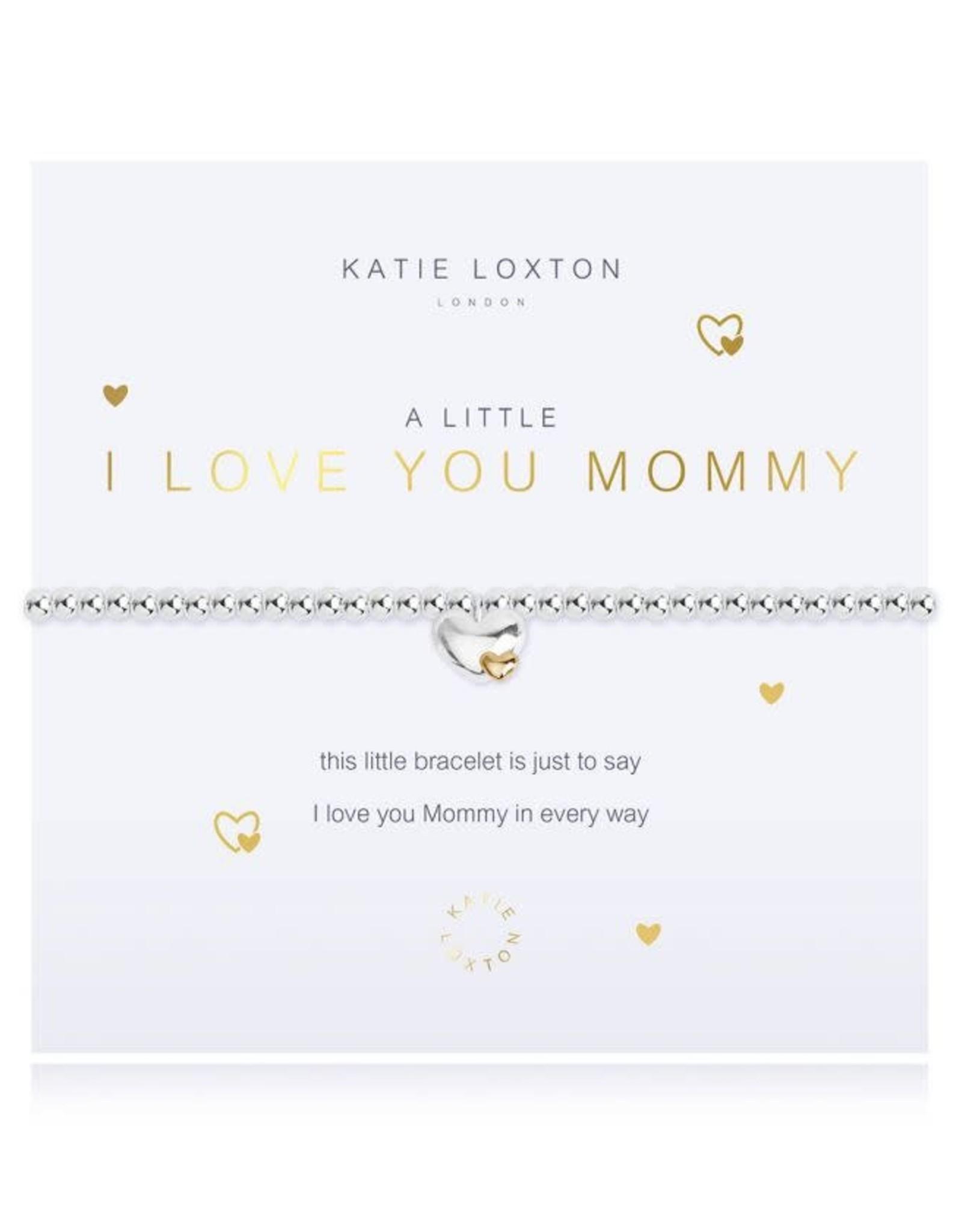 Katie Loxton Bracelet-I Love You Mommy