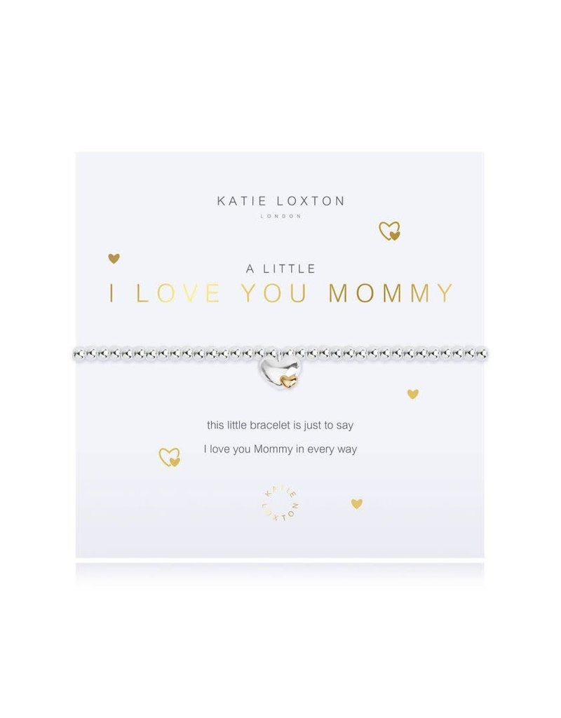 Katie Loxton Katie Loxton Bracelet-I Love You Mommy