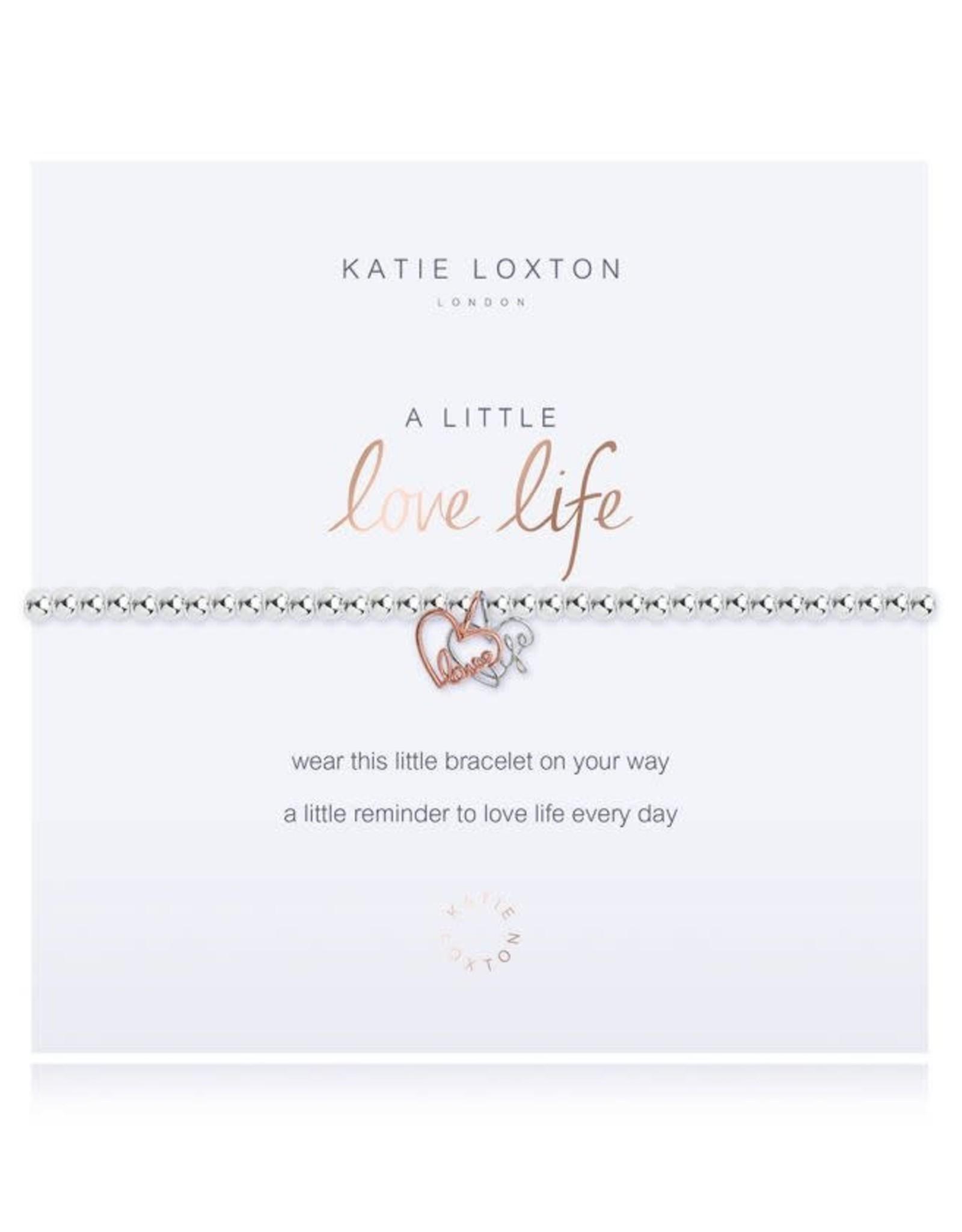 Katie Loxton Bracelet-Love Life